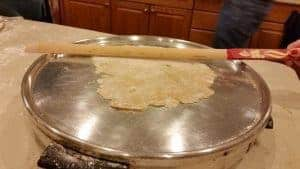 flatbread-on-griddle