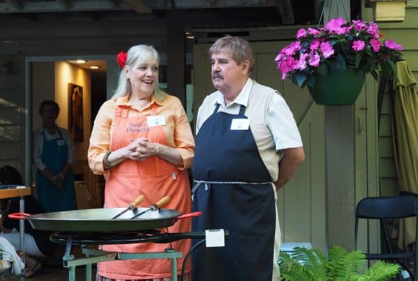 Joan and David Donatelle Host The Great Big Paella Party